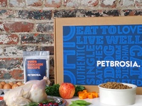 Rebrand of dog and cat food brand Petbrosia
