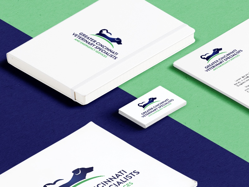 Logo for Greater Cincinnati Veterinary Specialists by Chelsea ...