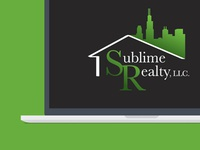 Logo mockup for Sublime Realty LLC.