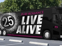 Pure Romance Bus Wrap