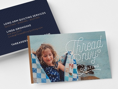 Thread Envy Quilting Business Card