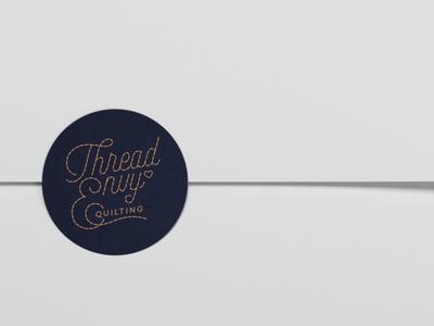 Thread Envy Quilting Sticker