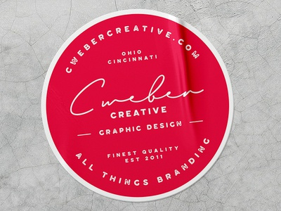 Branded Sticker Mockup freelance mockup photoshop creative type illustrator logo design texture brand adobe branding typography logo graphic design design