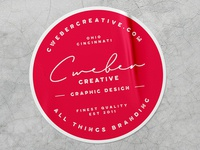 Branded Sticker Mockup