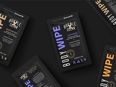 Hustle Clean - Branding & Packaging