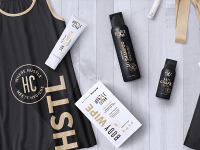 Hustle Clean - Branding and Packaging