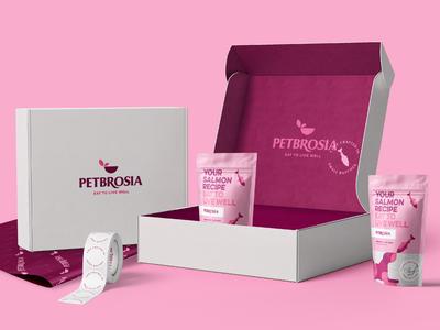 Petbrosia rebrand and packaging