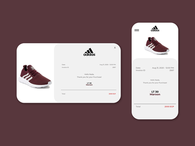 Daily UI Challenge: Email Receipt (Day 17) art website design ui ux ui  ux dailyui uidesign dailyuichallenge daily 100 challenge