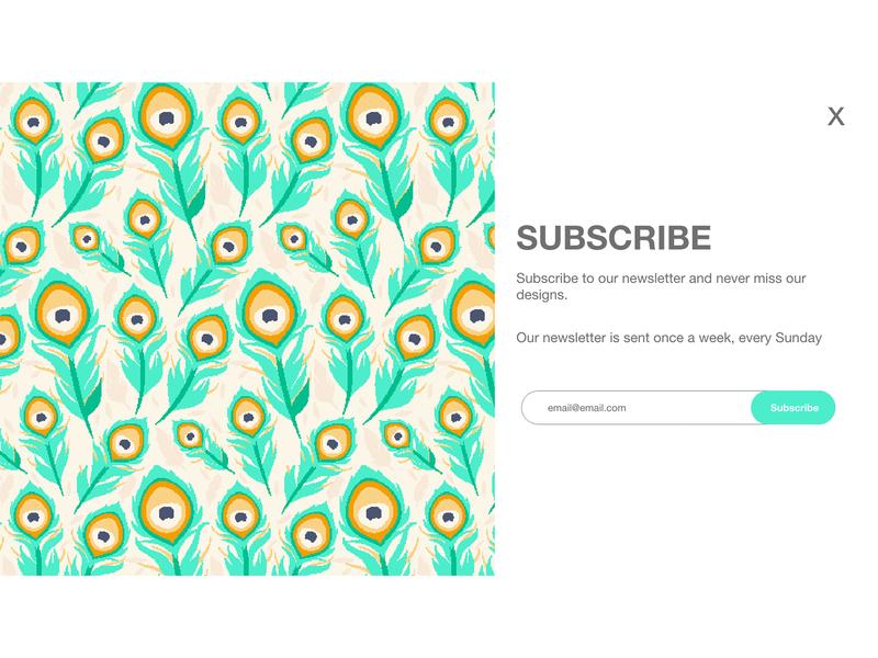 Daily UI Challenge: Subscribing  (Day 26) design website web ui  ux ux dailyui ui uidesign daily 100 challenge dailyuichallenge