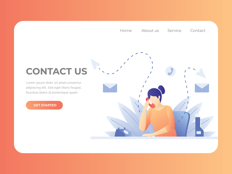 Daily UI Challenge: Contact Us (Day 28) web website ux ui ui  ux design dailyui uidesign dailyuichallenge daily 100 challenge