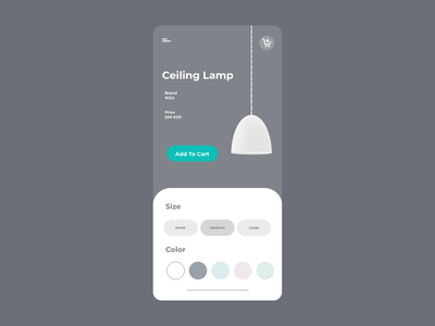 Daily UI Challenge: Customize Product (Day 33) website design illustration ui  ux ui ux dailyui uidesign dailyuichallenge daily 100 challenge