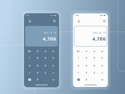 Daily UI 004 - Calculator calculator ui calculator daily 100 challenge figmadesign figma design dailyuichallenge daily ui dailyui ui design ui figma