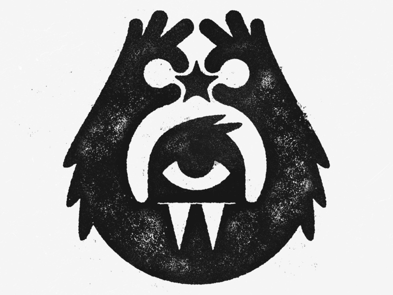 A Precious Star? spamp ink character creature cyclops monster precious star inktober