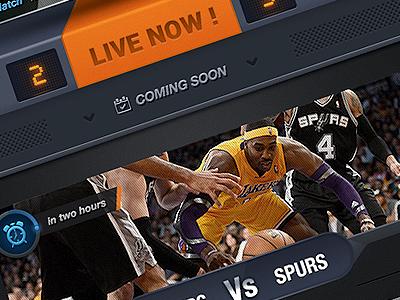 [Wip] Sport Game wip ios app ui ux iphone photoshop sport scoreboard reminder skeuomorph