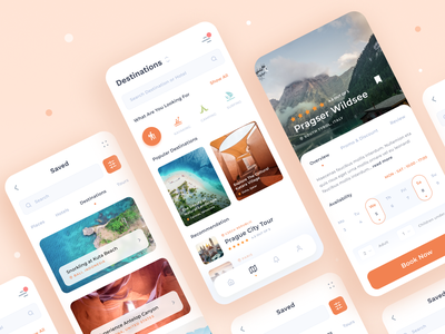 Travel UI App Concept destination travel agency travelling app travelling minimal city ticket tourism vacation iphone ios clean app ux interface ui