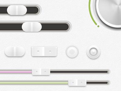 Clean Ui Set ui ux app clean modern switcher interface