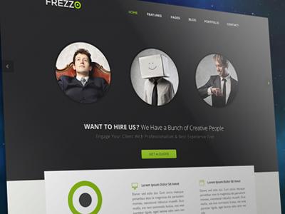 Frezzo homepage