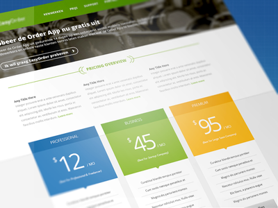 Pricing Table web web design interface pricing table blur user interface ui ux website