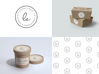 Luke Cookz food adobe xd design client management app illustration logo