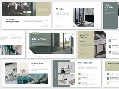 Simple Pitch Deck Presentation Design - Business Template corporate business pitch deck layout presentation ppt marketing keynote google slides designs design graphic design