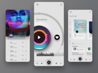 Music App design.