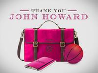 Thank You John Howard