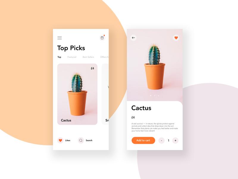 Plant App UI