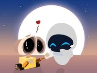 Wall-E & Eva