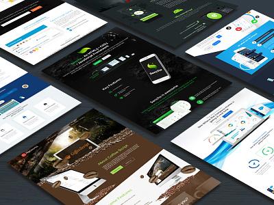 Website Layout job free download psd design creative ux ui landing page website