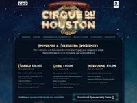 Cirque du houston website