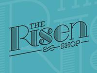 The Risen Shop Logo