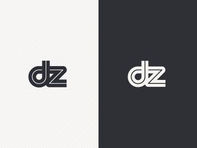 DZ Brand Identity logo identity brand black white naomisusi monogram