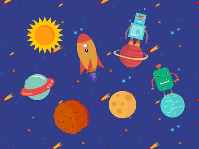 Space Vector graphics