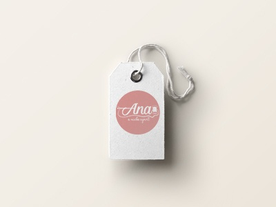 Logo for handmade products - Tag