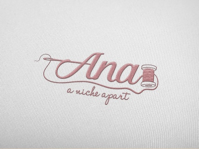 Embroidered Logo for handmade products