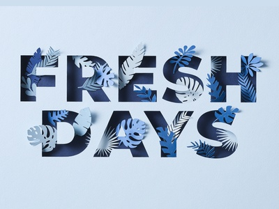 Fresh Days Typography