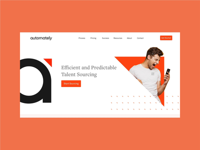 Automately - Web Design illustration brand identity ui brand web design website