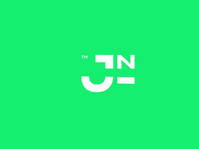 JIN illustrator flat typography minimal branding branding design design logo design logo illustration