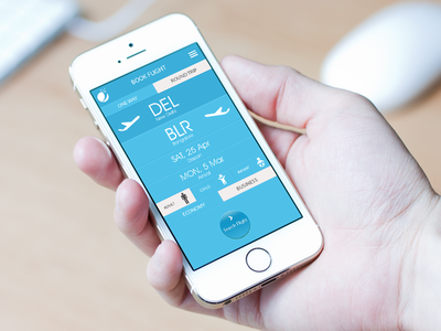 Redesign ui/ux -Yatra.com mobile app
