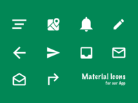 Mt Icons for our App V1