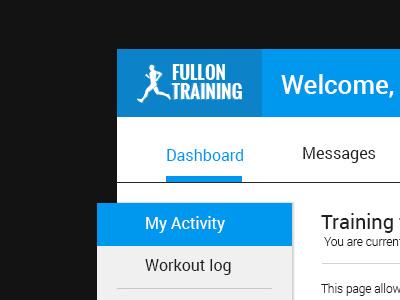 User App Flow sample logo design webdesign ui ux dashboard application app