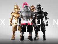 Art Toy-XIN YUAN 心猿