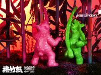 Art Toy-Beary Efficient Bear/撸竹熊