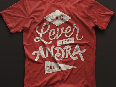 Jag lever för andra tshirt print