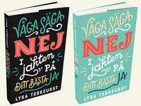 """""""Våga säga nej"""" book cover"""