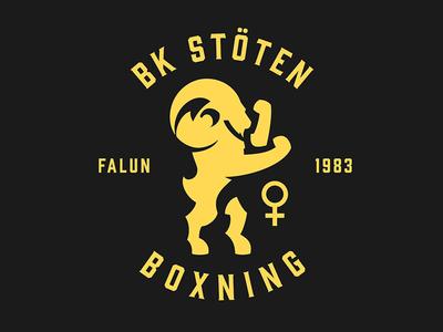 BK Stöten buck boxing logotype