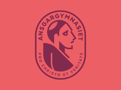 Ansgargymnasiet saint ansgar high school logotype