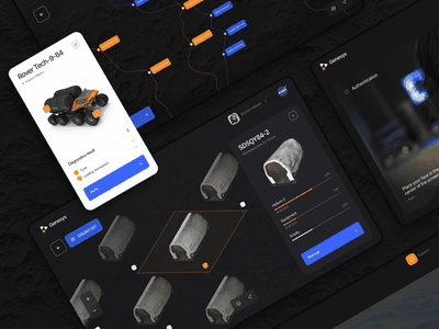 Moon base. Project Genesys - part 1 user experience interface space moon ux ui concept