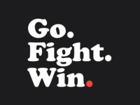Logo for Go. Fight. Win.
