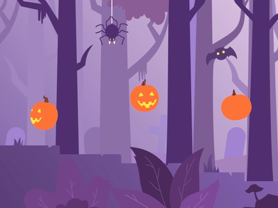 Halloween Tips & Tricks animated study ae intro logo motion design character motion animation after effects